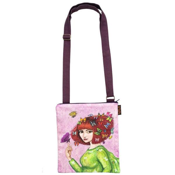 Lilii, väike kott pika õlarihmaga